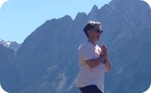 Gail, participant at Soglio Yoga Retreat