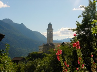 Yoga Retreat in Europe beautiful Soglio church
